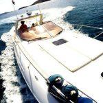 Estelas en el mar Lancha sunseeker martinique 39