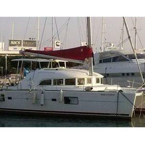 Exterior Lagoon 380 S2 Catamarán Alquiler en Ibiza
