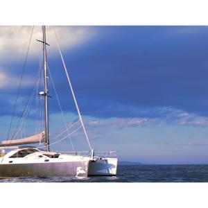 Navegando Privilege 51 Catamarán Alquiler en Ibiza