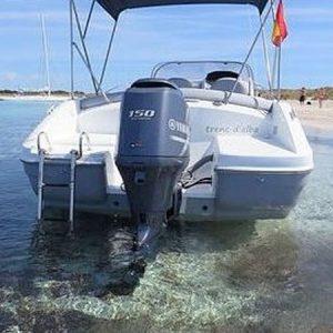 Navegando Beneteau 550 Lancha Alquiler en Ibiza