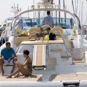Navegando Cranchi 43 Lancha Alquiler en Ibiza