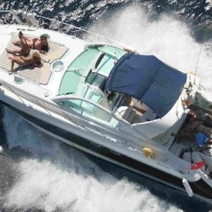 Navegando Fairline Targa 48 Yate Alquiler en Ibiza
