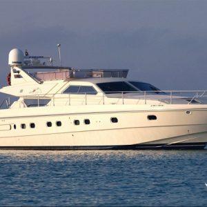 Navegando Ferrety 175 Fly Barco Alquiler en Ibiza