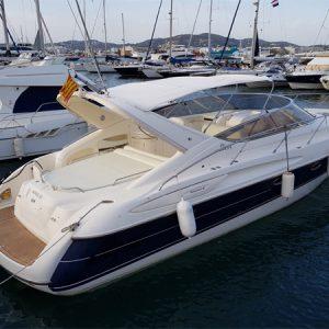 Navegando Cranchi Endurance 39 Lancha Alquiler en Ibiza