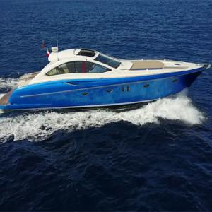 Navegando Numarine 55 Barco Alquiler en Ibiza