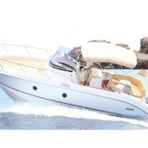 Navegando Key Largo 30 Lancha Alquiler en Ibiza