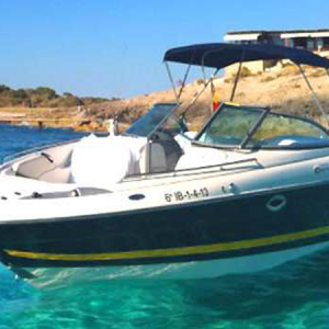 Navegando Monterey 278 Yate Alquiler en Ibiza