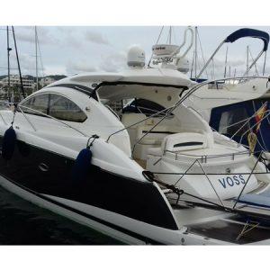 Navegando Sunseeker Portofino 47 Yate Alquiler en Ibiza