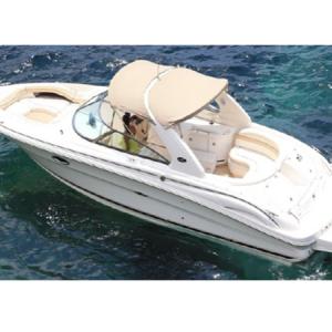 Navegando Sea Ray 390 N1 Lancha Alquiler en Ibiza