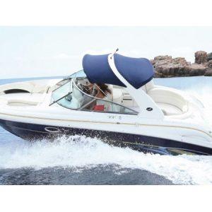 Navegando Sea Ray 295 BR Lancha Alquiler en Ibiza