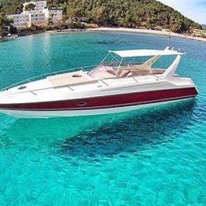 Navegando Sunseeker Apache 455 Yate Alquiler en Ibiza