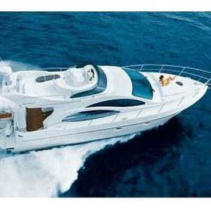 Navegando Azimut 42 Yate Alquiler en Ibiza