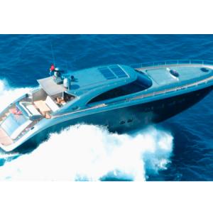 Navegando Pantera 80 GT Lancha Alquiler en Ibiza
