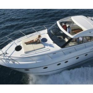 Navegando Princess V53 Barco Alquiler en Ibiza