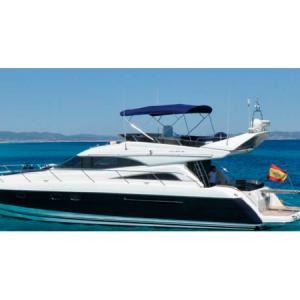 Navegando Princess 56 Flybridge Yate Alquiler en Ibiza