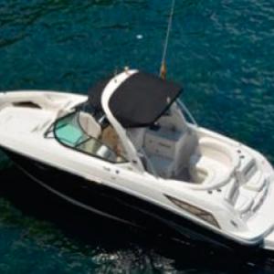Navegando Sea Ray 300 Lancha Alquiler en Ibiza