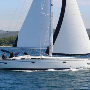 Navegando Bavaria 49 Velero Alquiler en Ibiza