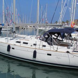 Navegando Beneteau Oceanis 47 Velero Alquiler en Ibiza