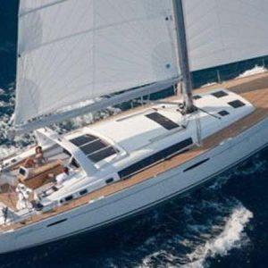 Navegando Beneteau Oceanis 58 Velero Alquiler en Ibiza
