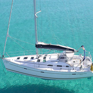 Navegando Beneteau Oceanis Clipper 393 Velero Alquiler en Ibiza