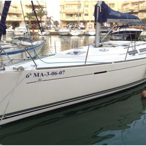 Navegando Dufour 425 Velero Alquiler en Ibiza