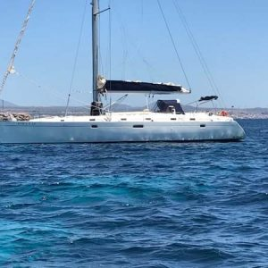 Navegando Beneteau 50 Barco Alquiler en Ibiza