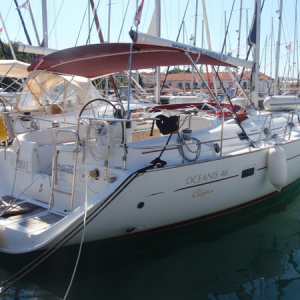 Navegando Beneteau Oceanis 411 Velero Alquiler en Ibiza