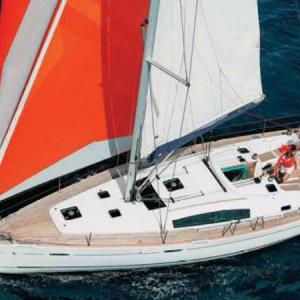 Navegando Beneteau Oceanis 43 Velero Alquiler en Ibiza