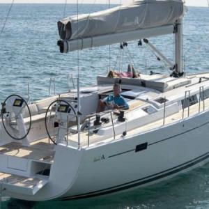 Navegando Hanse 50 Velero Alquiler en Ibiza