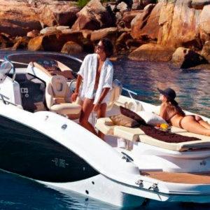 Navegando Sesa Key Largo 27 Lancha Alquiler en Ibiza
