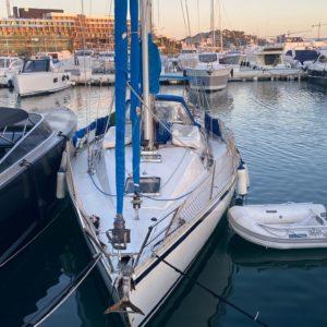 Exterior First 38 Embarcación de recreo Alquiler en Ibiza